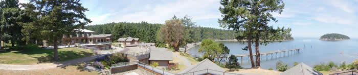 Mayne Island Resort Scenery